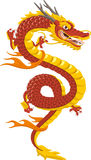Chinese dragon cartoon Royalty Free Stock Image