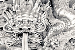 Chinese dragon carve Stock Images