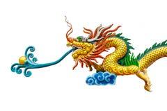 Dragon Chinese white background. Chinese Dragon Chinese white background Royalty Free Stock Photos