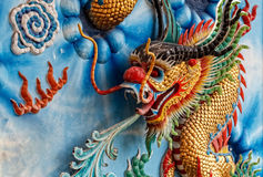 Chinese Dragon, Closeup Royalty Free Stock Images