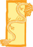 Chinese Dragon Color Stock Images