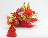 Chinese Dragon Decoration. Chinese  decorative dragon lantern CNY Stock Image