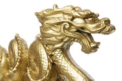 Chinese Dragon Figurine Royalty Free Stock Images
