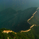 Chinese Dragon(Great Wall) Stock Photo
