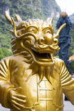 Chinese Dragon Guardian Royalty Free Stock Photography