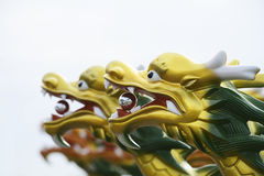 Chinese dragon head Stock Photography