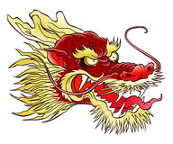 Chinese dragon head Stock Images