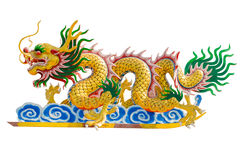 Chinese dragon image. Stock Photo