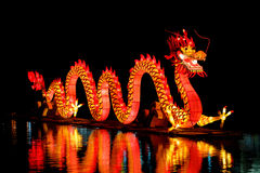 Chinese Dragon Lantern Stock Image
