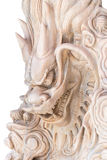 Chinese dragon marble carved.  Stock Images