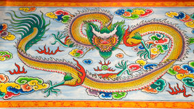 Chinese Dragon Painting Royalty Free Stock Image