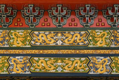 Chinese Dragon Pattern Stockfoto
