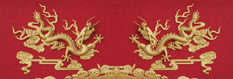 Chinese Dragon pattern Royalty Free Stock Photo