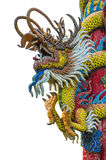Chinese dragon on the ploe Stock Photos