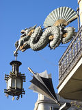 Chinese Dragon in the Ramblas, Barcelona Stock Photos