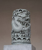 Chinese dragon sculpture. Made from marble Royalty Free Stock Photos