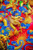 Chinese Dragon Sculpture Stock Images