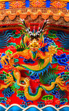 Chinese Dragon sculpture Royalty Free Stock Photography
