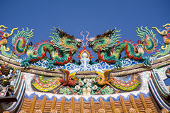 Free Chinese Dragon Statue Stock Images - 16787534