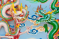 Chinese dragon statue Stock Photography