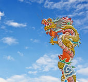Chinese dragon statue Stock Images