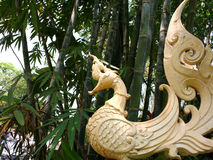 Chinese dragon statue. Statue of a chinese/thai dragon stock images