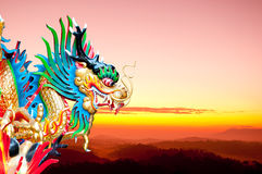 Chinese dragon style Royalty Free Stock Photography