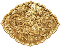 Chinese dragon symbol Royalty Free Stock Photo