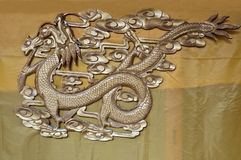 The Chinese dragon Royalty Free Stock Photo