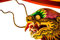 Chinese dragon, thailand Royalty Free Stock Photos