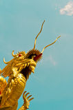 Chinese Dragon is thrusting the heaven Royalty Free Stock Photo