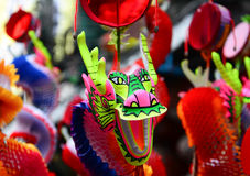Chinese Dragon toy Royalty Free Stock Photo