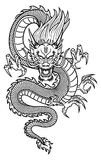 Chinese Dragon. Traditional Asian Dragon. This is vector illustration ideal for a mascot and tattoo or T-shirt graphic