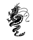 Chinese Dragon. Vector illustration of a Chinese Dragon Stock Photos