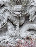 Chinese Dragon Wall Royalty Free Stock Photography