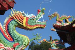 Chinese dragons Stock Image