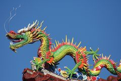 Chinese dragons Royalty Free Stock Photo