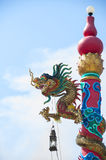 Chinese dragons statue. stock images