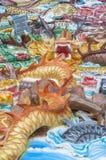 Chinese dragons. stock photo