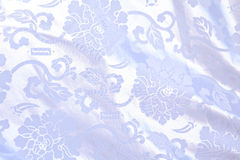 Chinese draped silk. Texture close up royalty free stock photo