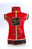 Chinese dress pattern Royalty Free Stock Photos