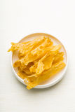 Chinese dried fish maw Royalty Free Stock Photos