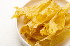Chinese dried fish maw Royalty Free Stock Images