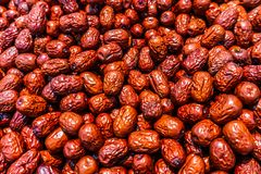 Chinese Dried Jujube View royalty free stock images