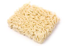 Chinese Dried noodle Stock Images