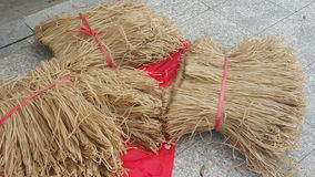 Chinese dried noodle Stock Image