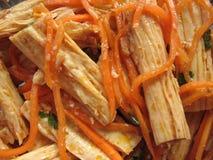 Chinese Dried Tofu Skin Stock Photography