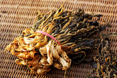 Chinese dried white cabbage Royalty Free Stock Image