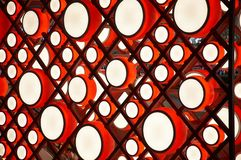 Chinese drum light Royalty Free Stock Photography