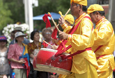 Chinese  Drummers Stock Images